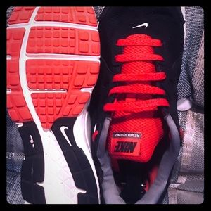 Men's Nike Black and Red